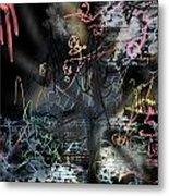 happyBirth - Pink Metal Print