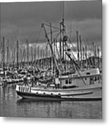 Harbor And Marina Monterey 2 Metal Print