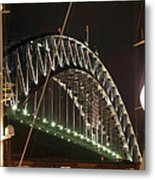 Harbor Bridge Metal Print