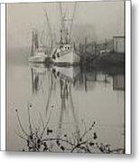 Harbor Fog No.4 Metal Print