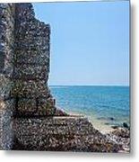 Harbor Island Ruins 1 Metal Print