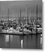 Harbor Lights II Metal Print