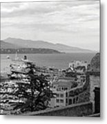 Harbor Lookout - Monte Carlo Metal Print