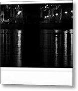 Harbor Night Metal Print