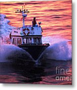 Harbor Pilot Metal Print