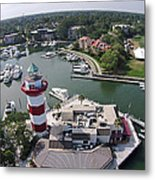 Harbor Town 1 In Hilton Head Metal Print