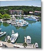 Harbor Town 7 In Hilton Head Metal Print