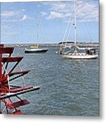 Harbor View Metal Print