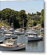 Harbor Views Metal Print