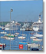 Harbour And Queen's Wharf - Falmouth Metal Print
