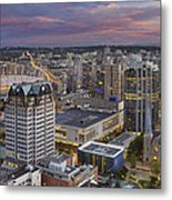 Harbour Center Lookout Vancouver Bc Metal Print