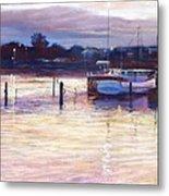 Harbour Lights - Apollo Bay Metal Print