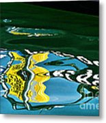 Harbour Master Abstract Metal Print