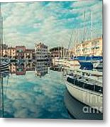 Harbour Of Grado Metal Print