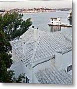 Port Mahon View With A Villa Called Venecia - Harbour Of My Dreams Metal Print