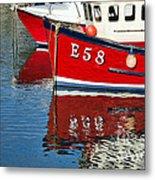 Harbour Reds Metal Print
