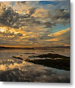 Harbour  Sunset Metal Print by Rod Sterling
