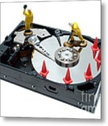 Hard Drive Repair Metal Print
