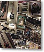 Hard Rock Cafe Hollywood Florida Metal Print