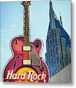 Hard Rock Cafe Nashville Metal Print