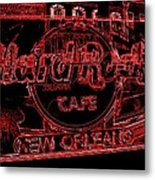 Hard Rock Cafe Nola Metal Print