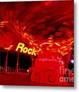 Hard Rock Hard Ride Metal Print