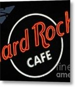 Hard Rock - St. Louis Metal Print