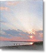 Hardings Beach Metal Print