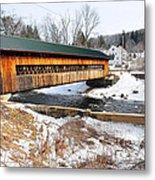 Hardwick Covered Bridge  Metal Print