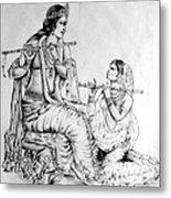 Hare Krishna Metal Print by Tanmay Singh