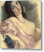 Harem Girl 1850 Metal Print