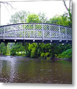 Hares Hill Road Bridge Metal Print