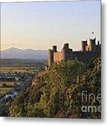 Harlech Castle Wales Metal Print