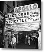 Harlem's Apollo Theater Metal Print