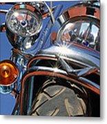 Harley Close Up Metal Print