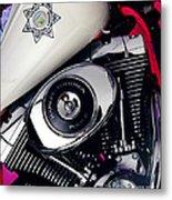 Harley Cop 2 Metal Print