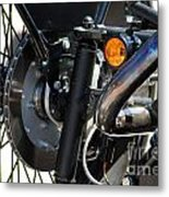 Harley Cycle Metal Print