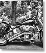 Harley D. Iron Horse Metal Print