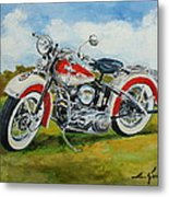 Harley Davidson 1943 Metal Print