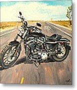 Harley Davidson 883 Sportster Metal Print