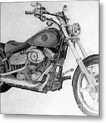 Harley Davidson Big Boy Toy Metal Print