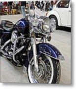 Harley Davidson Detail Metal Print