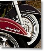 Harley Davidson Heritage Softail And Road King Metal Print