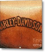 Harley Davidson Leather Tool Bag  Metal Print