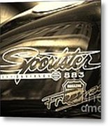 Harley Davidson Sportster 883 Metal Print