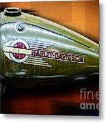 Harley-davidson Tank Logo Metal Print