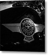 Harley Davidson Usa Metal Print