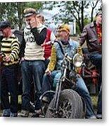 Harley Gang Metal Print