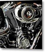 Harley Metal Print by Joe Bonita