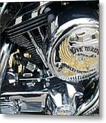 Harley Live To Ride Metal Print